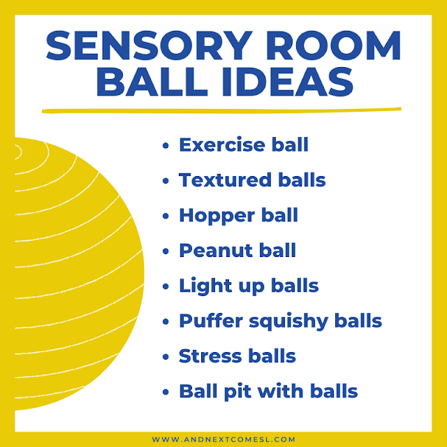 Sensory balls ideas for kids