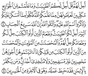 Tafsir Surat Al-Maidah Ayat 1, 2, 3, 4, 5