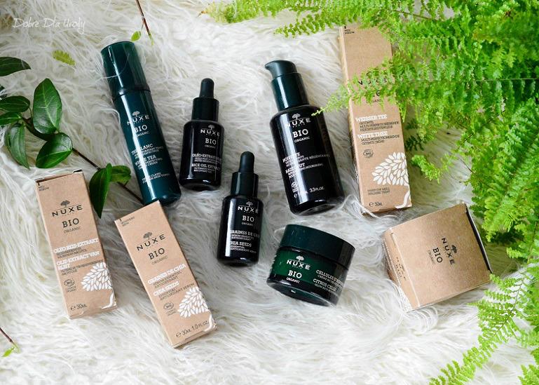 Nuxe BIO Organic - 100% naturalne, certyfikowane wegańskie kosmetyki