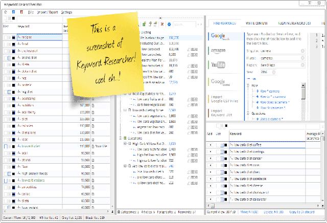 Keyword Researcher Pro 13.118
