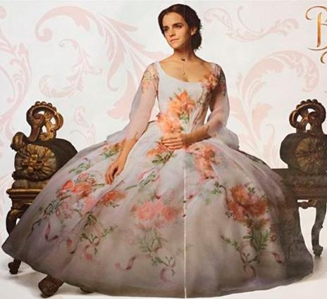 A bela e a fera vestido noiva (Ema Watson)
