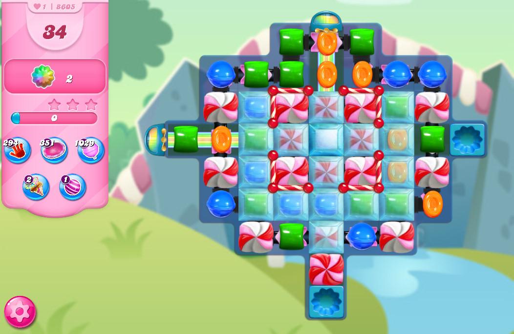 Candy Crush Saga level 8605