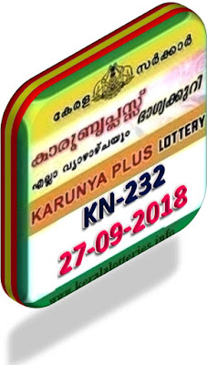 kerala lottery result from keralalotteries.info 27/09/2018, kerala lottery result 27.09.2018, kerala lottery results 27/09/2018, KARUNYA PLUS lottery KN 232 results 27/09/2018, KARUNYA PLUS lottery KN 232, live KARUNYA PLUS   lottery KR-232, result today, kerala lottery results today, today kerala lottery result, KARUNYA PLUS lottery KARUNYA PLUS lottery result today, KARUNYA PLUS lottery KN-232,   KARUNYA PLUS lottery results today, kerala lottery results today KARUNYA PLUS, kerala lottery online result