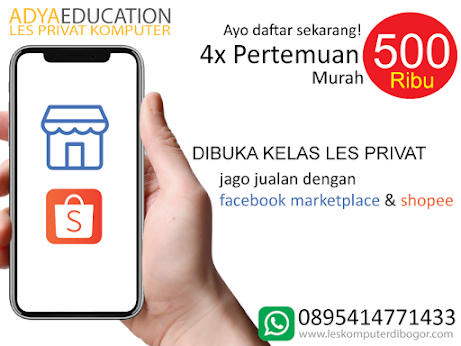 les privat internet marketing di bogor - jago jualan dengan facebook marketplace & shopee oktober 2020