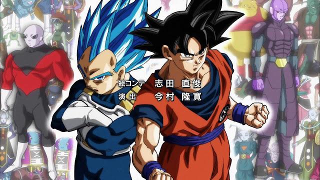 Dragon Ball Super Goku Vegeta Torneio do Poder