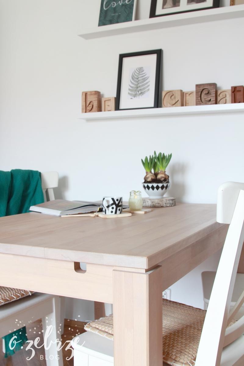 Stół drewniany, wooden table, seart