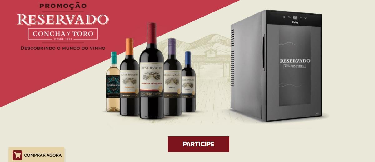 Promoção Vinho Reservado Concha Y Toro 2021