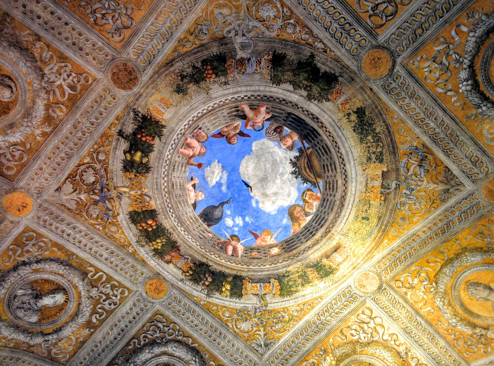 Itinerario mantova alla corte dei gonzaga for Camera degli sposi a mantova