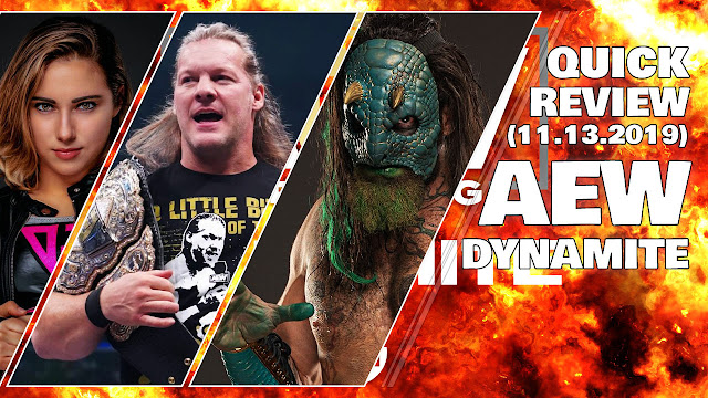 AEW Dynamite • 11/13/2019 • Quick Review