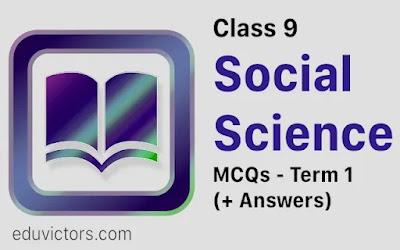 CBSE Class 9 - Social Science Term 1 MCQs (2021-22) (#cbseClass9)(#class9SocialScience)(#eduvictors)
