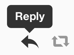 reply on twitter