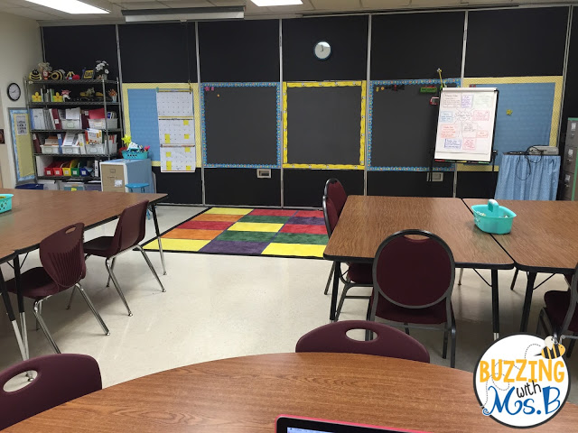 Image of Direct Instruction/PD Space and Wall Space in a Coaching Office Space