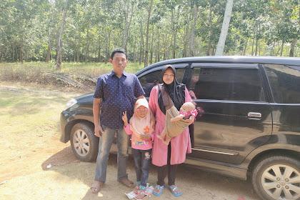 Beli Jeruk langsung di Pohon dan menyusuri Jalanan Desa Lampung