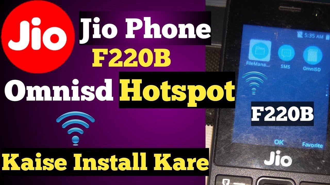 Jio Phone F220B Omnisd Kaise Install Kare ! How Install