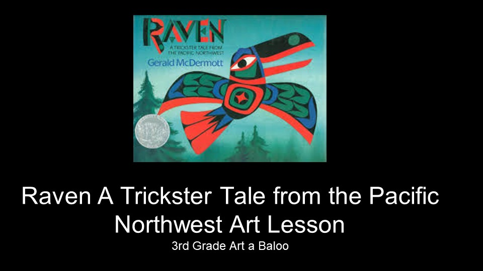 art a baloo crew raven a trickster tale from the pacific northwest