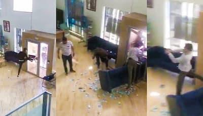 """خطير: عصابة """"ملثمة"""" تسطو على وكالة بنكية و تستولي على الملايين وسط استنفار أمني كبير"""