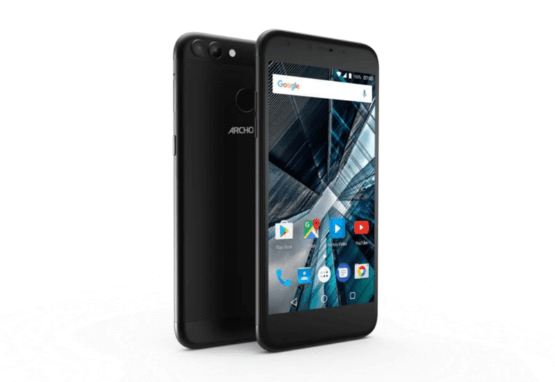 Archos 50 And 55 Graphite With Dual Cameras Announced!