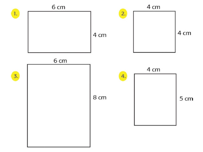 Dua bangun sebangun apabila memiliki bentuk yang sama dan memiliki ukuran yang sebanding Kesebangunan Pada Bangun Datar