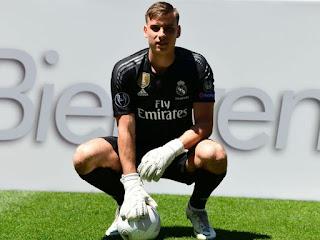 Andriy Lunin Named As Real Madrid's second goalkeeper next season