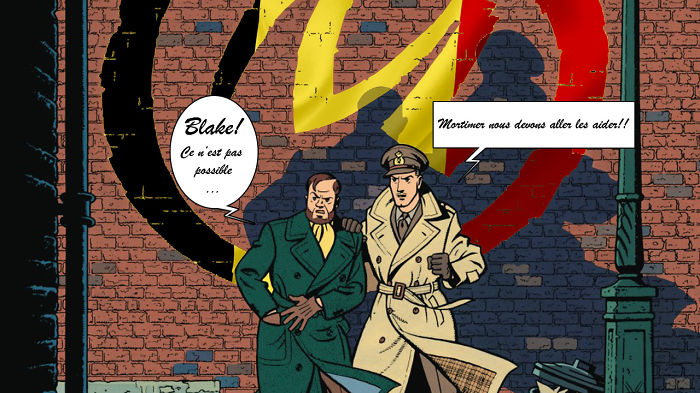 #PrayForBrussels Let's Show The World That We Are UNITED! - #33 Blake & Mortimer Aident La Belgique!