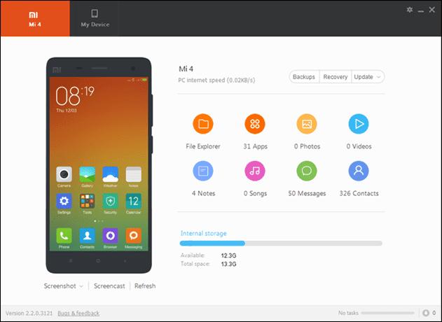 Cara Menghubungkan HP Xiaomi ke PC