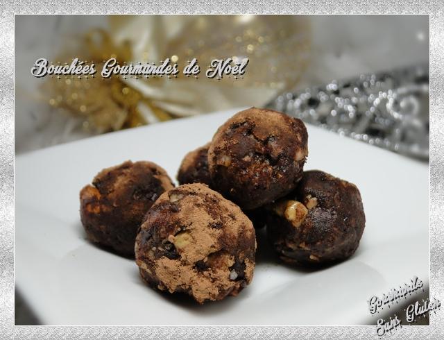 Bouchées gourmandes de Noël