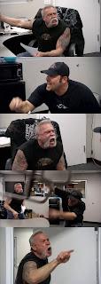 Fighting Meme Template
