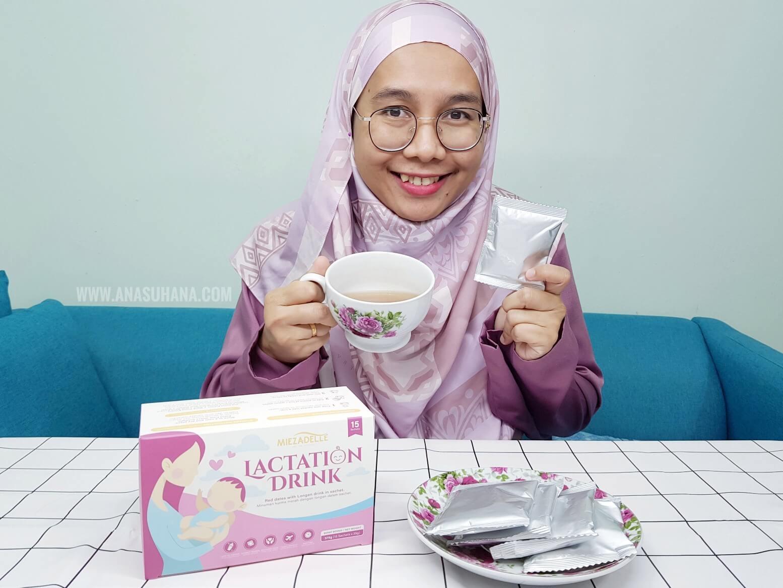 Milk Booster Dari Bahan Sunah dan Semulajadi dari Miezadelle Lactation Drink