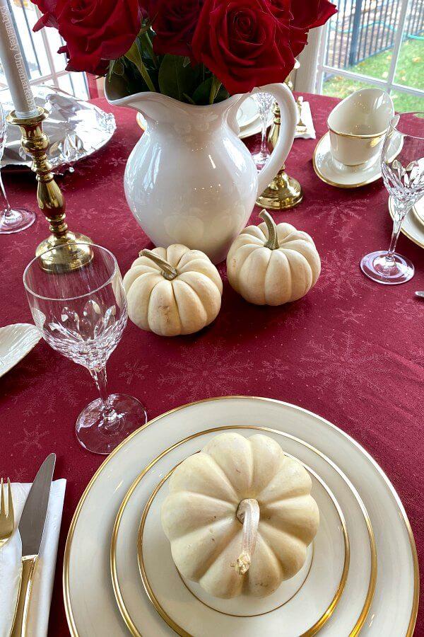 Lenox China Thanksgiving Table