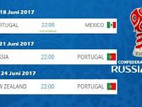 Jadwal Portugal Di Piala Konfederasi 2017 Dan Daftar Skuad Resmi