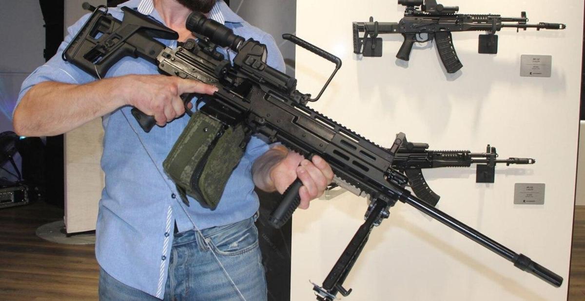 На Росії створили новий кулемет РПЛ-20, що замінить РПК-16