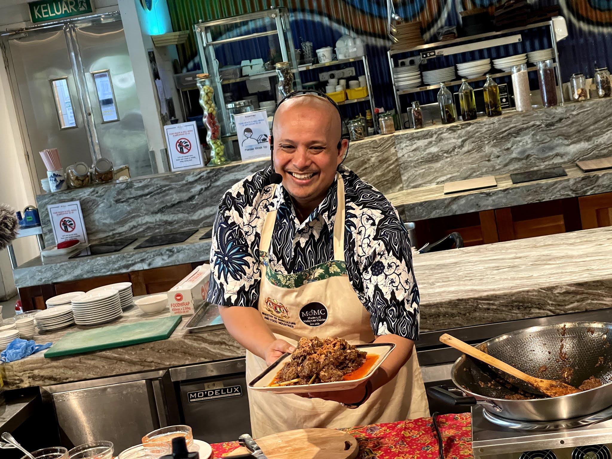 Masters of Malaysian Cuisine (MOMC) dan Kementerian Pertanian dan Industri Makanan (MAFI) anjur acara demontrasi makanan Malaysian Heritage Cuisine