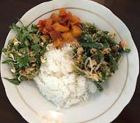 Image result for makan siang sayur