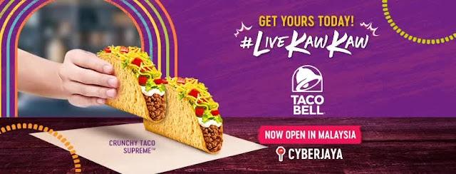 Taco Bell Malaysia Opens Its First Restaurant In Malaysia At Cyberjaya Selangor