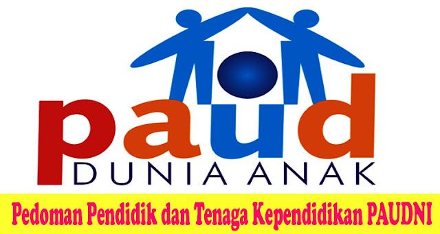 Pedoman Pendidik dan Tenaga Kependidikan PAUDNI - Dapodik.co.id