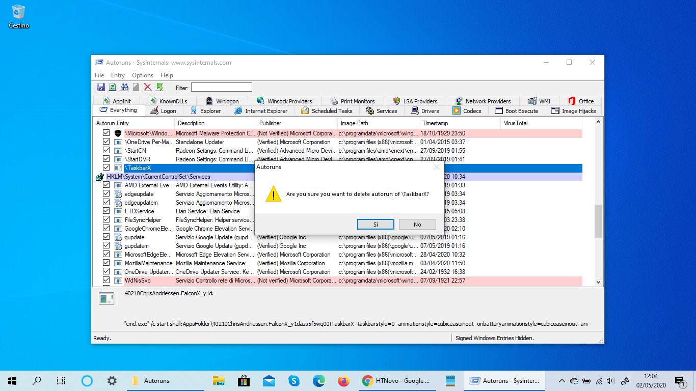 Come eliminare programmi fantasma in Windows 10