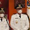 Pelantikan Bupati dan Wabup Tanjab Barat di Rumah Dinas Gubernur Jambi