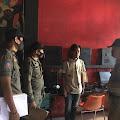 Tim Patroli Satpol PP Inhil Mendata Warnet yang Masih Bandel Buka di Jam Belajar