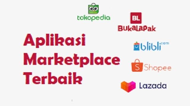 5 Aplikasi Marketplace Terbaik di Indonesia 2021 - Cara1001