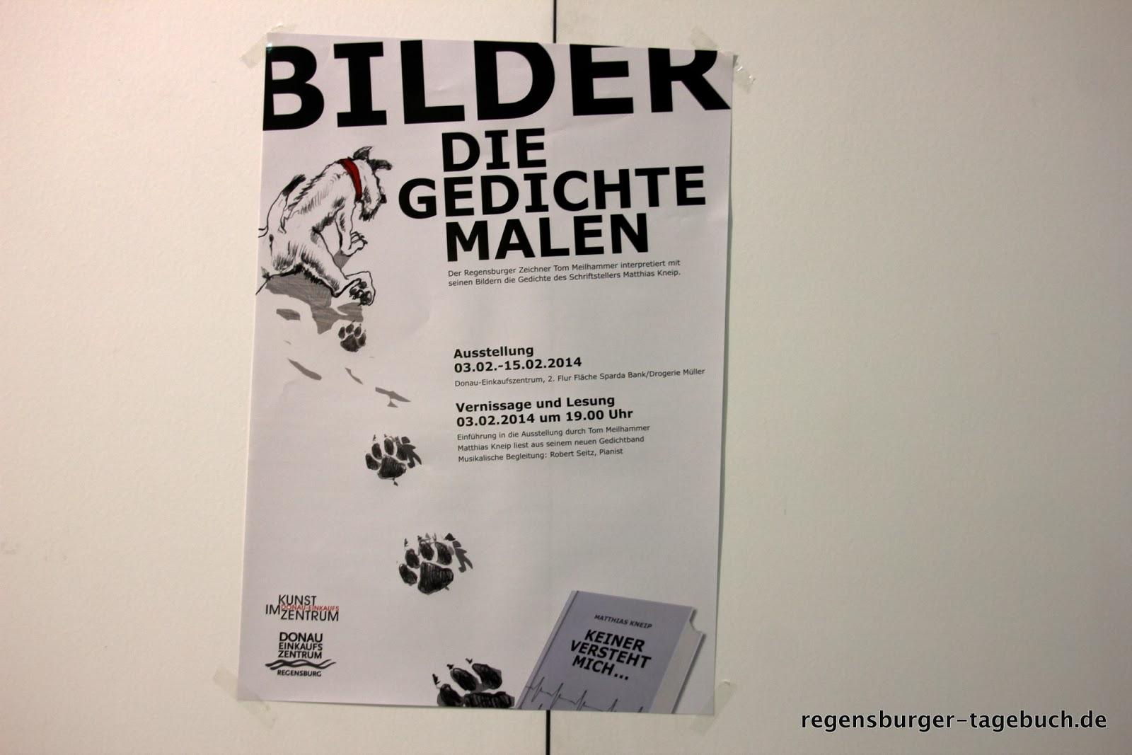 Regensburger Tagebuch Bilder Die Gedichte Malen Ausstellung Im Dez