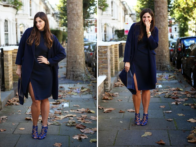 Wearing Navy Blue