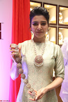 Samantha Ruth Prabhu in Cream Suit at Launch of NAC Jewelles Antique Exhibition 2.8.17 ~  Exclusive Celebrities Galleries 048.jpg