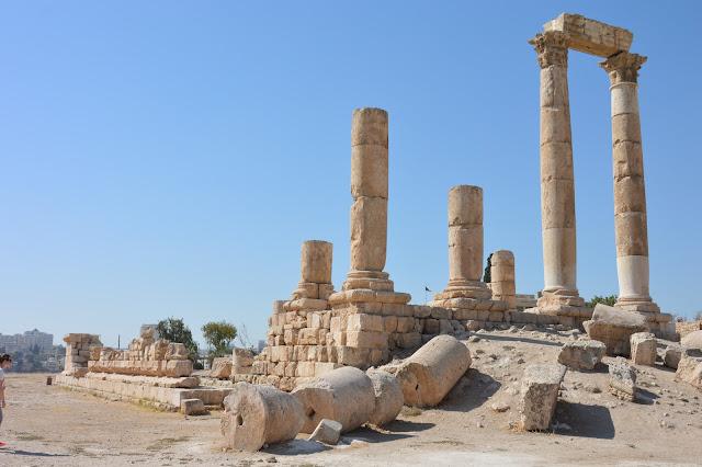 Temple d'Hercule à Amman