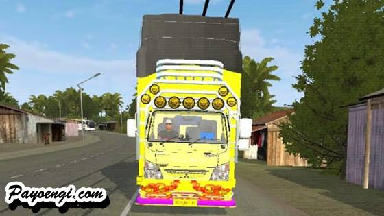 mod bussid canter sulawesi