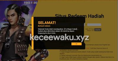 Kode Redeem FF