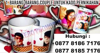Barang-barang couple untuk Kado Pernikahan