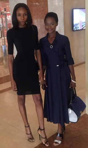 Photos: Checkout Former Agege Bread Seller, Olajumoke's Look To An Event In Abuja Today