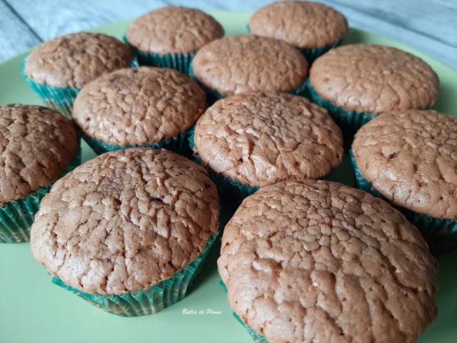 Bulles de Plume Recette Muffins au chocolat