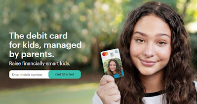greenlightcard The debit card for kids