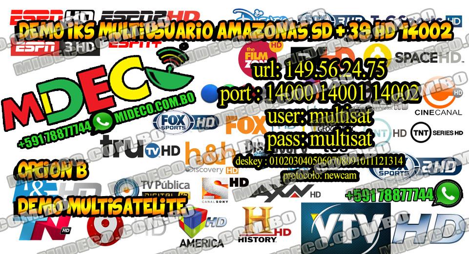 MiDeco – Página 24 – Tv Stelital Tupac Katari 87w FTA